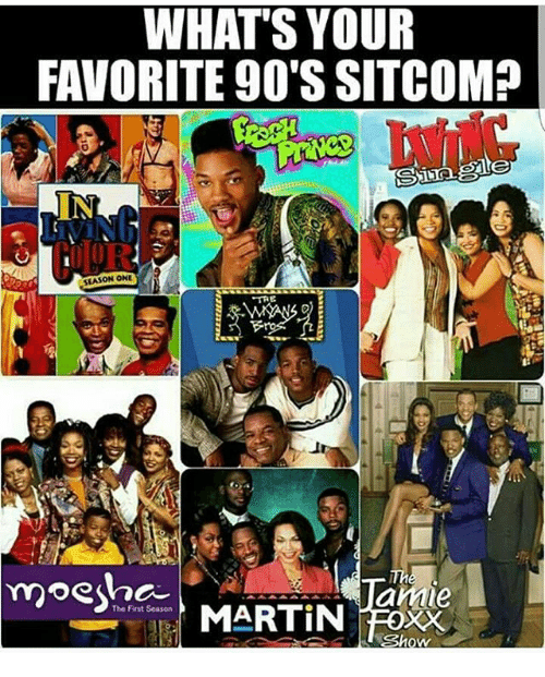 martin show: WHAT'S YOUR  FAVORITE 90'S SITCOM?  SEASON ONE  TRE  moest  amie  The First Season  MARTIN  Show
