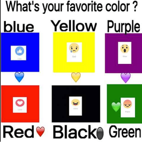 Whats Your Favorite Color