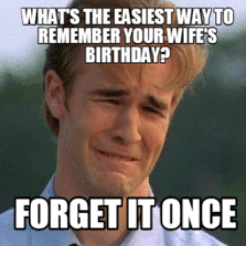 Funny Birthday Meme For Wife : Best memes about wife birthday