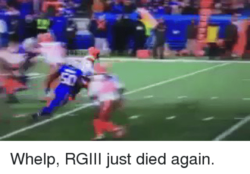 Football, Nfl, and Sports: Whelp, RGIII just died again.