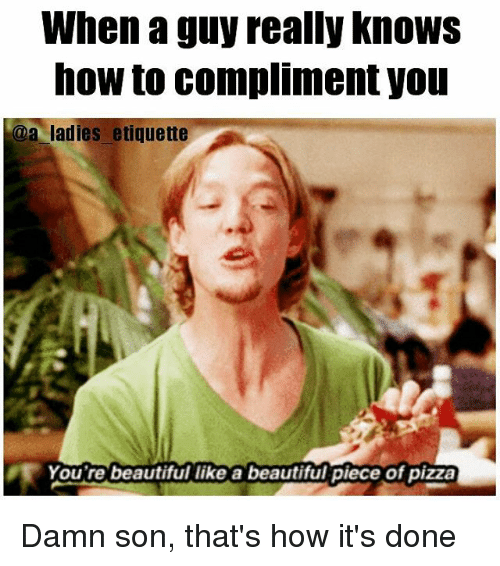 How Do You Compliment A Guy