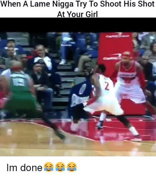 Hood Clips: When A Lame Nigga Try To Shoot His Shot  At Your Girl  #hood clips Im done😂😂😂