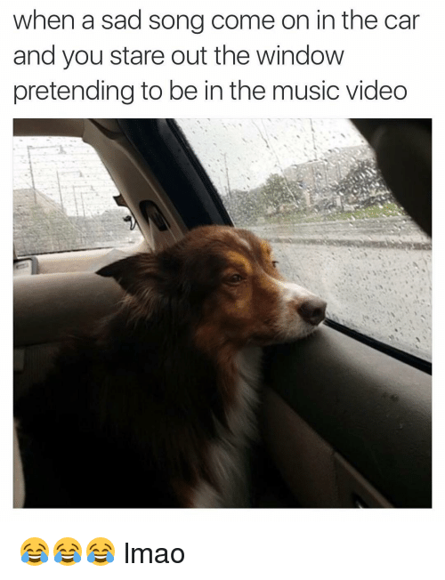 Image result for music in the car meme