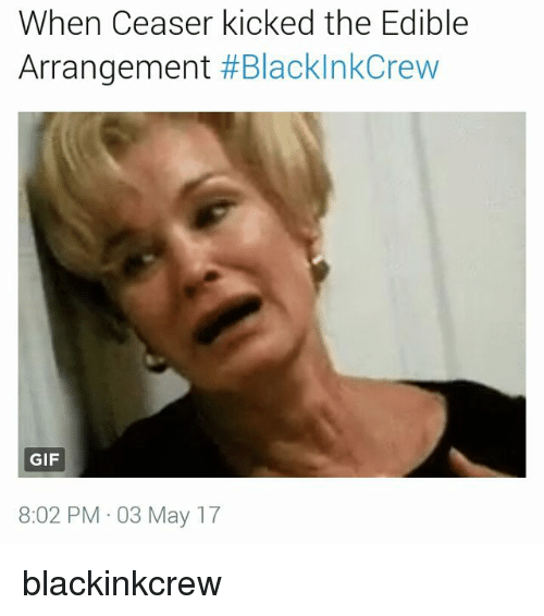 when ceaser kicked the edible arrangement blackinkcrew gif 8 02 pm 19912968 🅱 25 best memes about edible arrangement edible arrangement,Edible Arrangements Meme