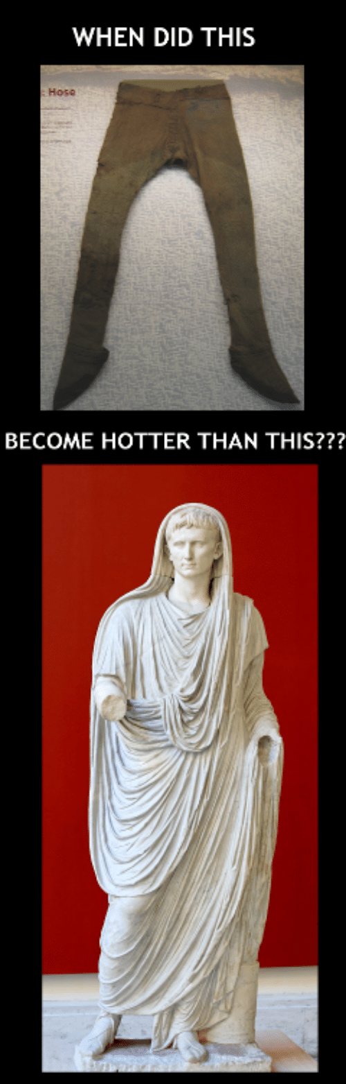 hose: WHEN DID THIS  Hose  BECOME HOTTER THAN THIS???