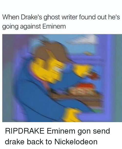 Ghost writer essays drake