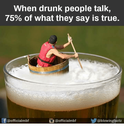 how to talk to drunk people