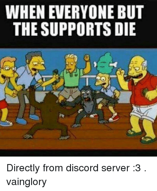 WHEN EVERYONE BUT THE SUPPORTS DIE Directly From Discord ...