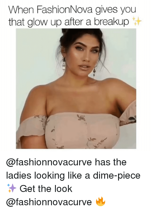 Glowed Up: When FashionNova gives you  that glow up after a breakup @fashionnovacurve has the ladies looking like a dime-piece ✨ Get the look @fashionnovacurve 🔥