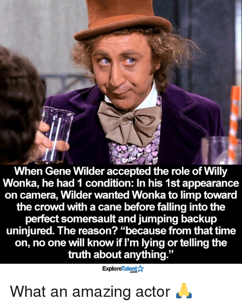 when gene wilder accepted the role of willy wonka he 12354001 🔥 25 best memes about willy wonka willy wonka memes