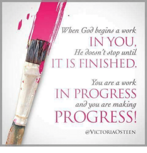 when god begins a work in you he doesn