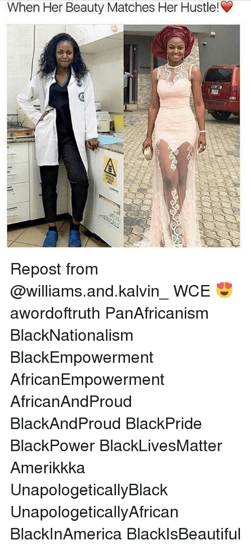 Blackpower: When Her Beauty Matches Her Hustle! Repost from @williams.and.kalvin_ WCE 😍 awordoftruth PanAfricanism BlackNationalism BlackEmpowerment AfricanEmpowerment AfricanAndProud BlackAndProud BlackPride BlackPower BlackLivesMatter Amerikkka UnapologeticallyBlack UnapologeticallyAfrican BlackInAmerica BlackIsBeautiful