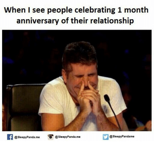 what months do you celebrate in a relationship