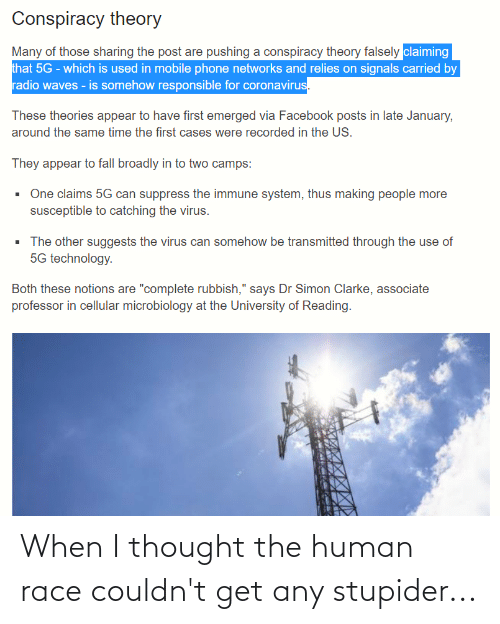 stupider: When I thought the human race couldn't get any stupider...
