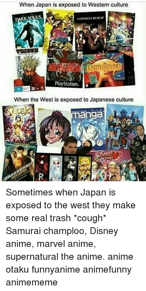 anime in western culture Self-orientalized internationalization, which reveals a cultural desire to establish japan as an ersatz western country in asia keywords anime, cultural politics, de -japanization , internationalization, japanese animation, occidentalism orientalism, self-orientalization anime, another name for japanese animation,1.