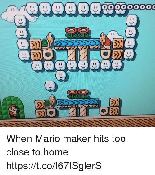 mario maker: When Mario maker hits too close to home https://t.co/I67ISglerS