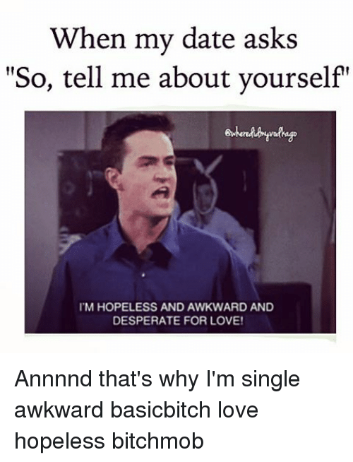 Tell me about yourself for dating