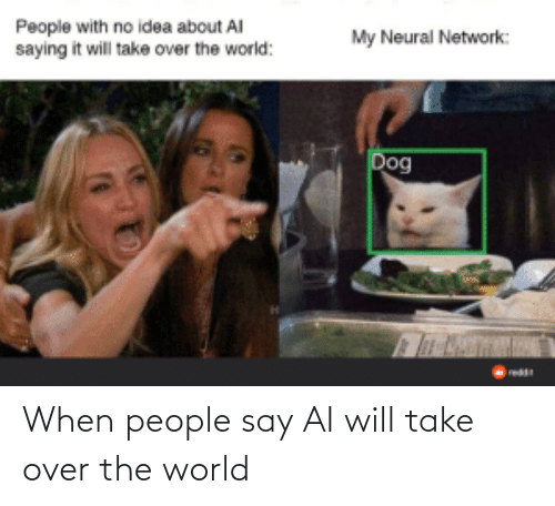 people-say: When people say AI will take over the world