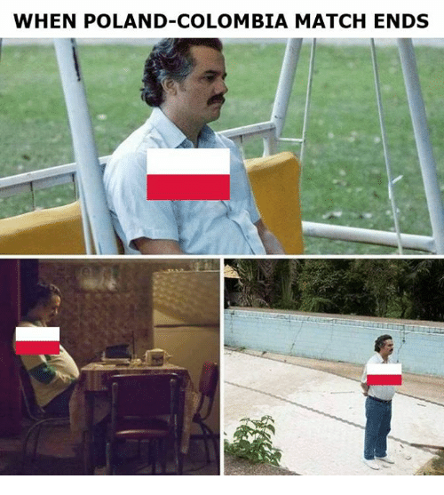 Memes, Colombia, and Match: WHEN POLAND-COLOMBIA MATCH ENDS