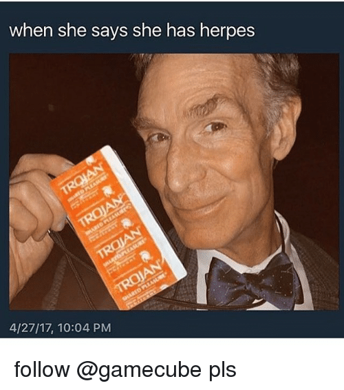 My girlfriend has herpes