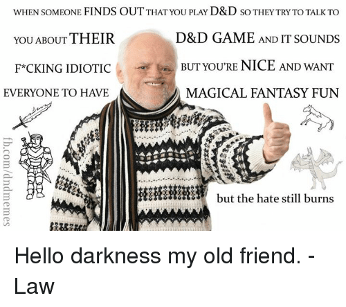 Come Out And Play Meme: Funny Hello Darkness, My Old Friend Memes Of 2016 On SIZZLE