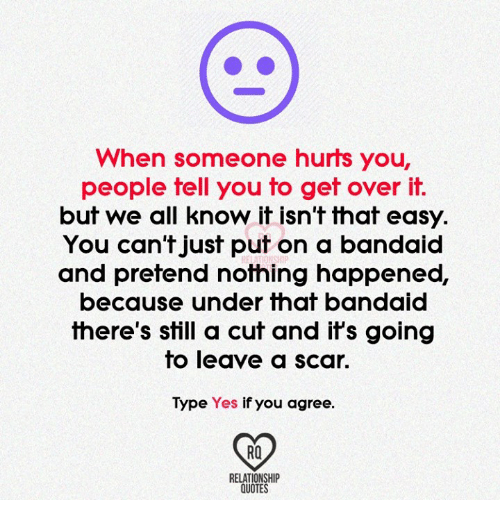 Quotes About Someone Hurting You Over And Over: 25+ Best Memes About Over It