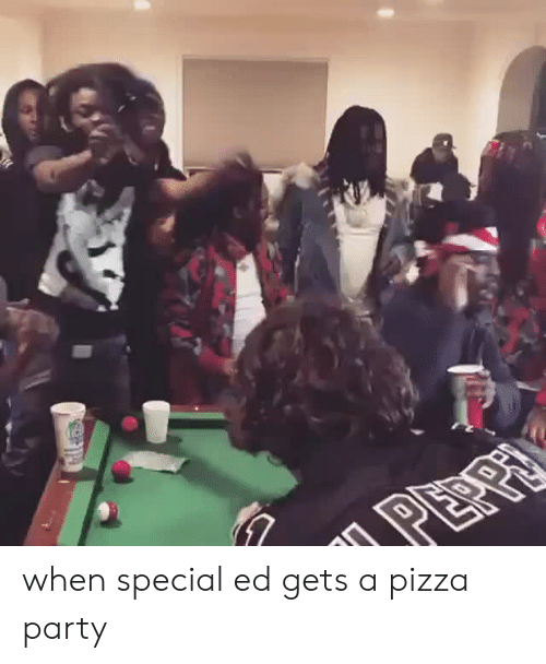 special ed: when special ed gets a pizza party
