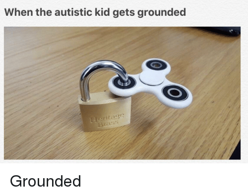 When The Autistic Kid: When the autistic kid gets grounded  Heritage <p>Grounded</p>
