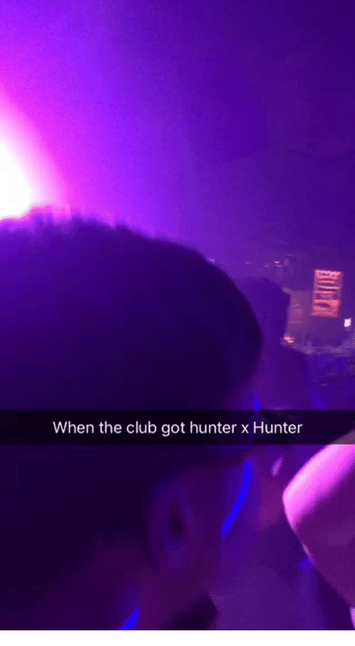 hunter x hunter: When the club got hunter x Hunter