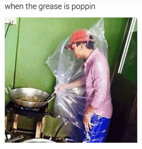Memes, Grease, and 🤖: when the grease is poppin