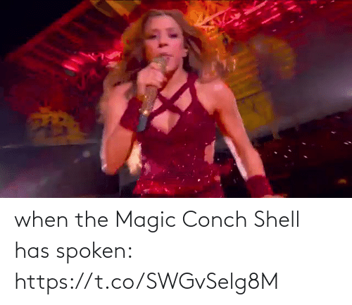 shell: when the Magic Conch Shell has spoken: https://t.co/SWGvSelg8M