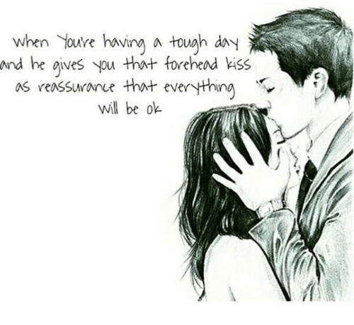 Image result for forehead kiss meaning