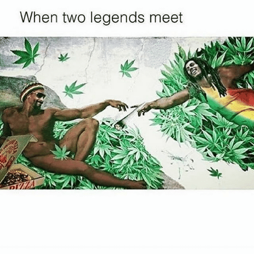 Memes, 🤖, and Legends: When two legends meet