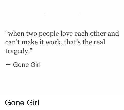 People That Love Each Other: 25+ Best Memes About Gone Girl