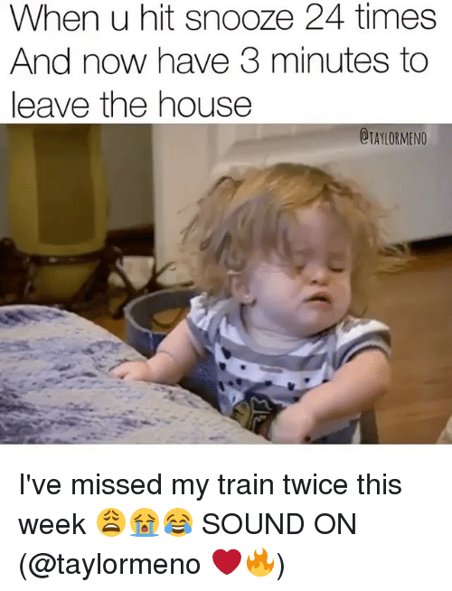 the day when i missed my train