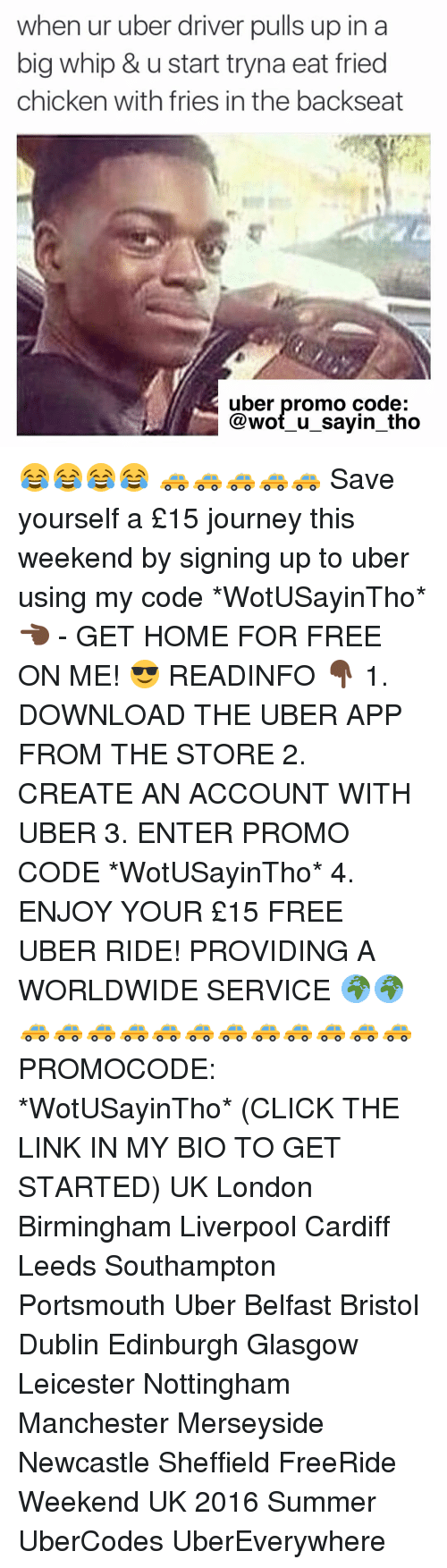how to find uber eats code on account