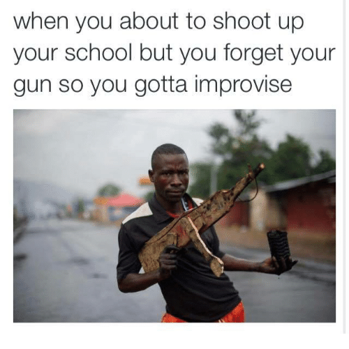 Gun shoot you