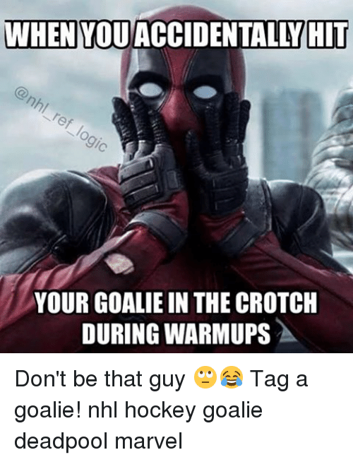 when you accidentally hit your goalie in the crotch during 15004174 🔥 25 best memes about hockey goalie hockey goalie memes