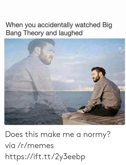 Big Bang Theory: When you accidentally watched Big  Bang Theory and laughed Does this make me a normy? via /r/memes https://ift.tt/2y3eebp