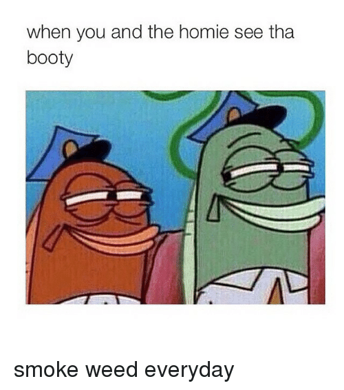Smoke Weed Everyday, Weeds, and Smoking Weed: when you and the homie see tha  booty smoke weed everyday