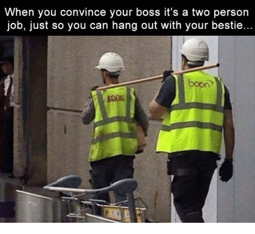 """persuade your employer that you deserve Here's a test of your boss's self-control and a measure of your standing in your  department go him or her and say, """"i have an idea"""" watch his."""