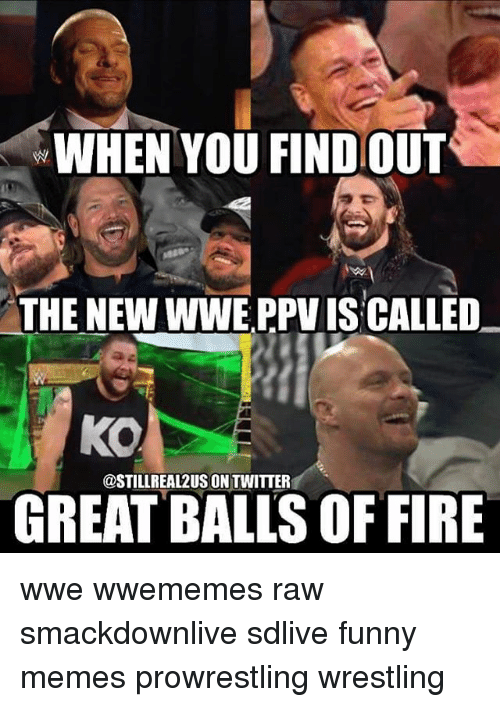 Funniest Wwe Memes On The Internet : When you findout the ne e ppviscalled ko