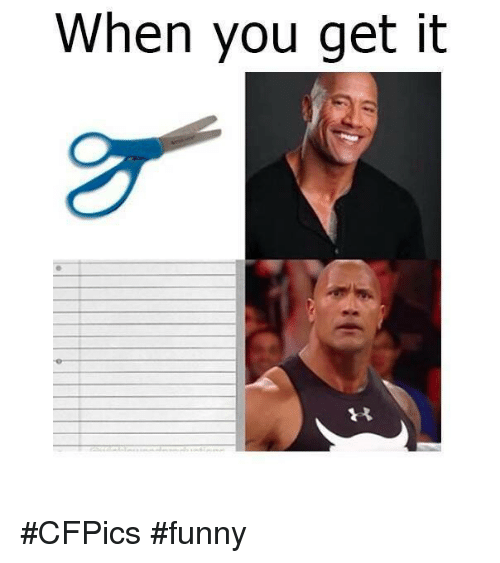 Funny Memes For It : When you get it cfpics funny meme on sizzle