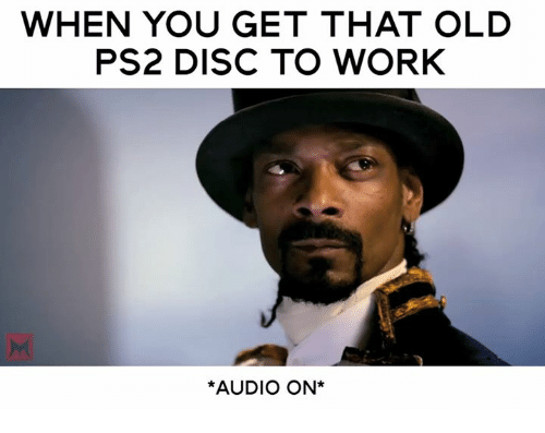how to get a disc game to work