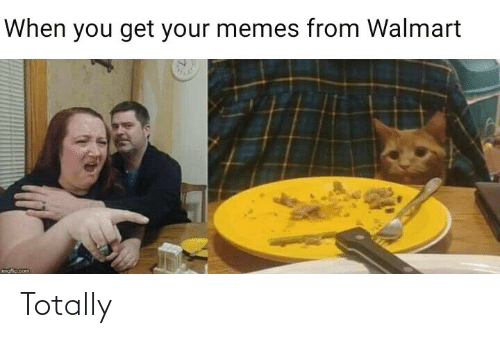 Walmart: When you get your memes from Walmart  mofio.com Totally