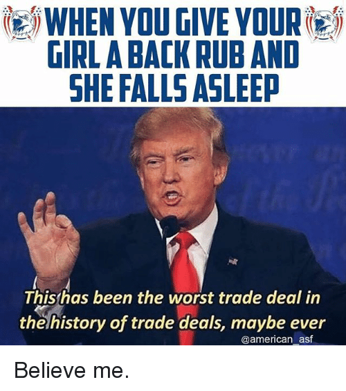 25 Best Memes About Worst Trade Deal In The History Of
