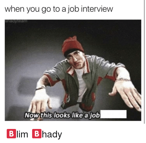 If dating was like a job interview