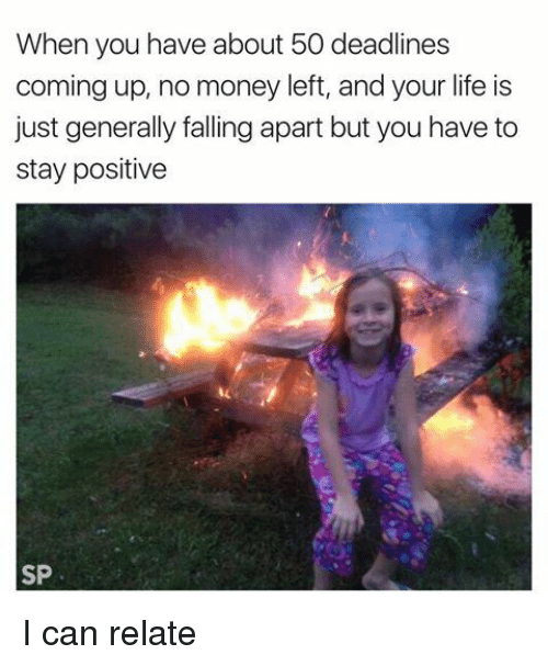 Funny Stay Positive Memes of 2017 on SIZZLE | Staying Positive |Funny Memes Stay Positive