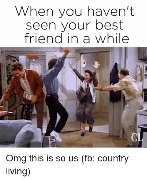 Quotes About Friends You Havent Seen In Awhile : Best memes about when you havent
