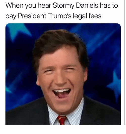 Memes, 🤖, and President: When you hear Stormy Daniels has to  pay President Trump's legal fees